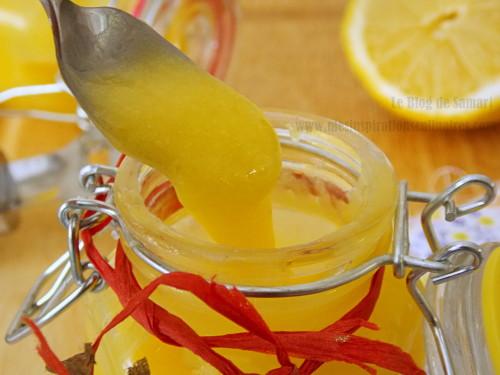 recette de Lemon curd / crème de citron