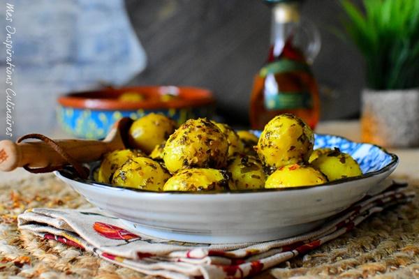 recette de pomme de terre a la charmoula