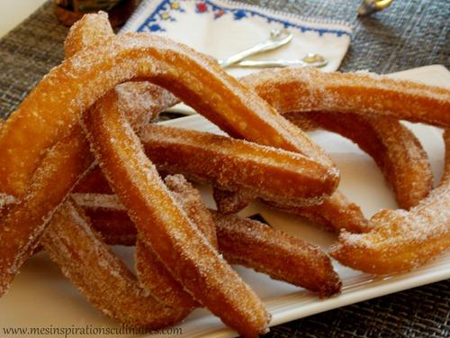 Recette de churros espagnols facile et rapide le blog cuisine de samar - Gateau de noel facile et rapide ...