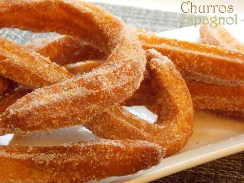 recette de Churros espagnols