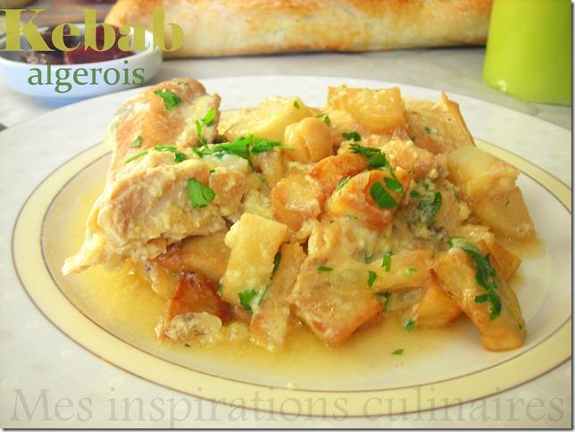 Kebab algerien au poulet le blog cuisine de samar - Cuisine recette algerien ...