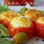 nids de tomates au four aux oeufs 1
