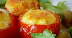 nids de tomates aux oeufs1