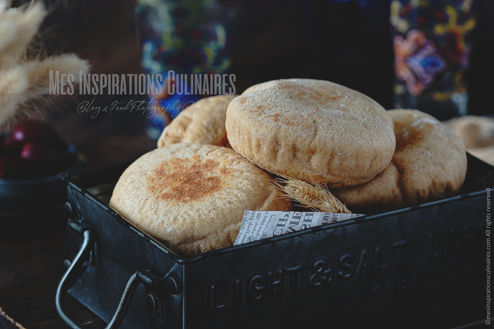 Batbout (petits pains marocains à la poêle)