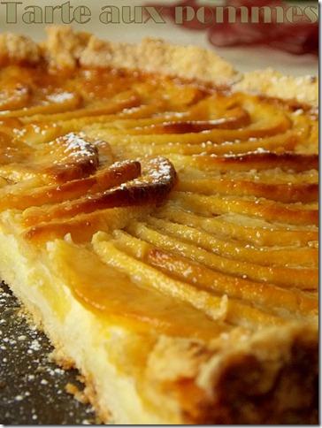 tarte aux pommes alsacienne facile le blog cuisine de samar. Black Bedroom Furniture Sets. Home Design Ideas