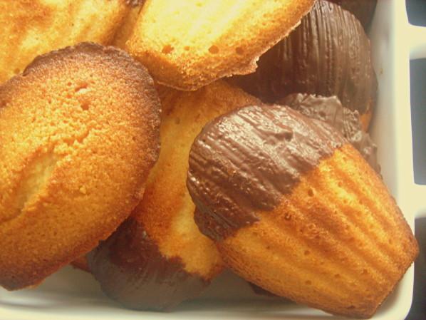 Madeleines au miel et amande (facile, rapide)