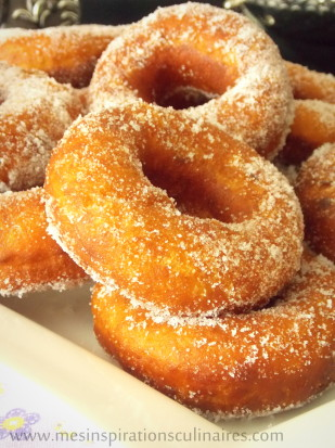 Beignet leger et facile au sucre
