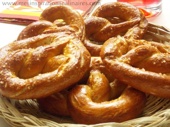 recette Bretzels ou Pretzels (en image)