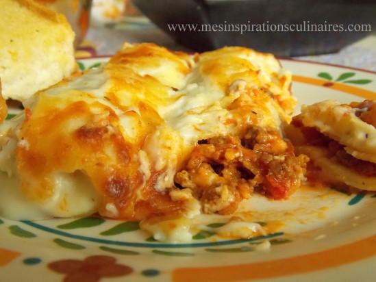 Cannelloni la viande hach e le blog cuisine de samar - Cuisine italienne cannelloni ...