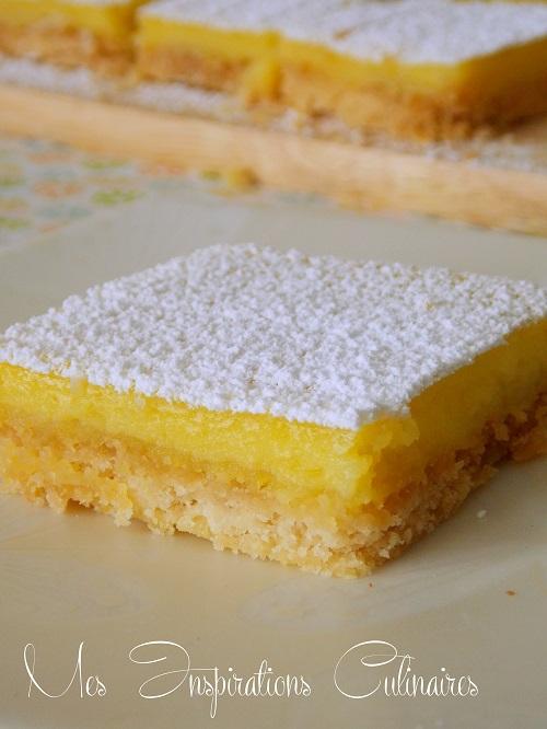 carres au citron recette facile 1