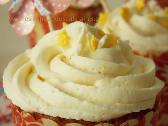 cupcakes au citron / huile d'olive