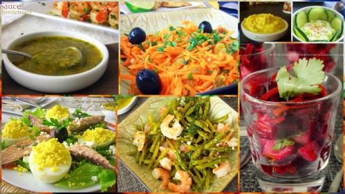 recette ramadan 2016 les salades le blog cuisine de samar. Black Bedroom Furniture Sets. Home Design Ideas