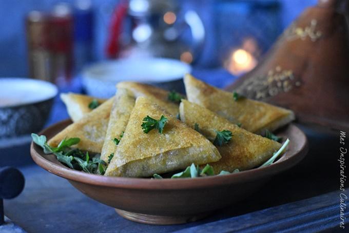 Brick aux crevettes à la marocaine / entrées ramadan 2019