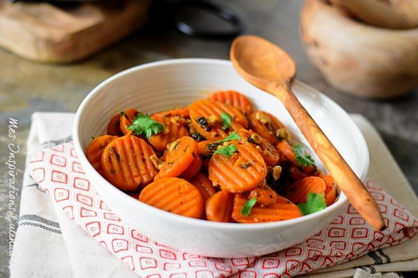 salade de carottes la marocaine le blog cuisine de samar. Black Bedroom Furniture Sets. Home Design Ideas