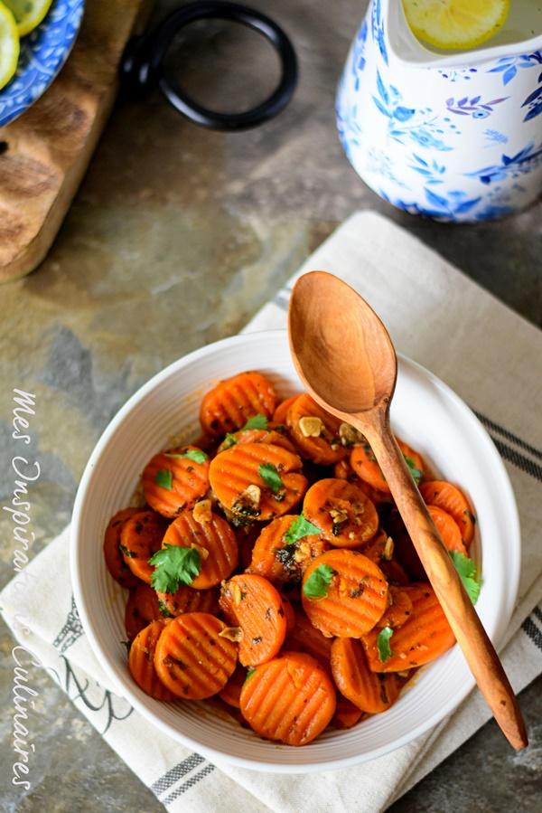 Salade de carottes à la marocaine facile