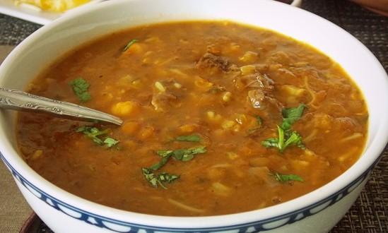 Soupe de poisson  Cuisine Marocaine