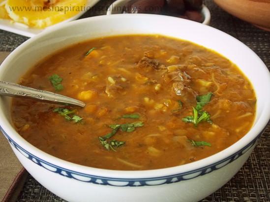 Soupe harira marocaine harira fassia le blog cuisine de - Blog cuisine algeroise ...