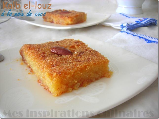 Recette kalb elouz qalb el louz le blog cuisine de samar - Cuisine orientale facile ...