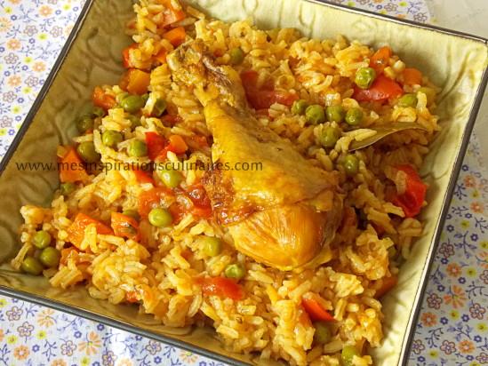 Riz au poulet cuisine algerienne le blog cuisine de samar - Recette de cuisine algerienne traditionnelle ...