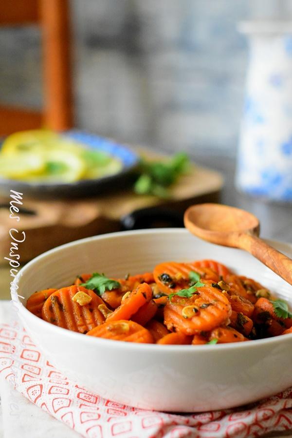 Salade de carottes à la marocaine recette ramadan