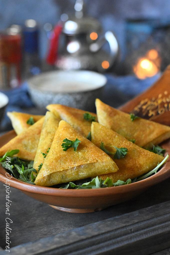 Recette Brick aux crevettes à la marocaine