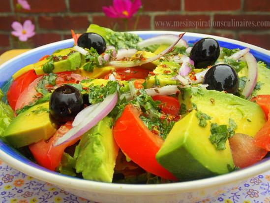 Salade D Avocats Simplissime Le Blog Cuisine De Samar