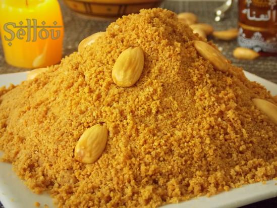 Gateaux marocain sellou