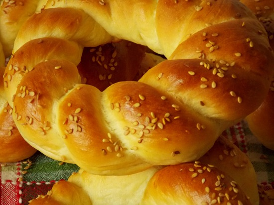 pain simit, pain turc au sésame