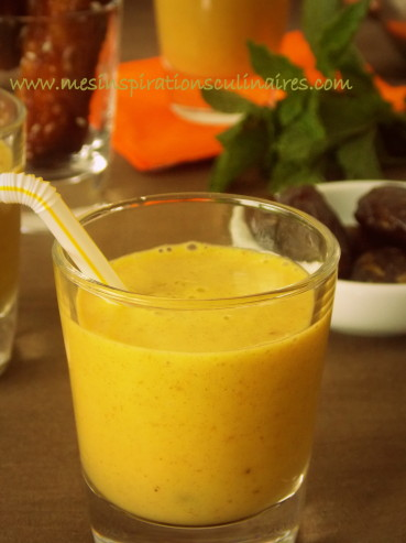 Smoothie mangue dattes / boisson ramadan