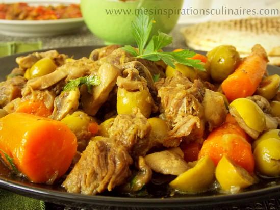 Tajine Zitoune / plat ramadan 2014