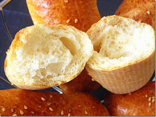 petits pains moelleux aux graines de sésames