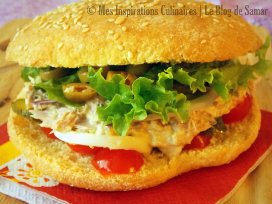 Recette Sandwich au thon (facile)
