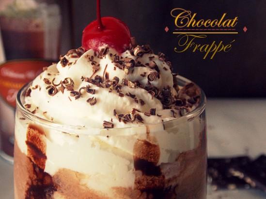 Recette Chocolat frappé (chocolat au lait froid)