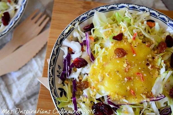 coleslaw salade de chou rouge 1