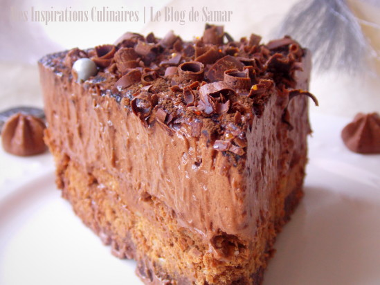 Gateau creme chocolat