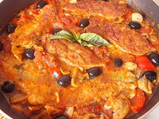 sauce provençale au poulet