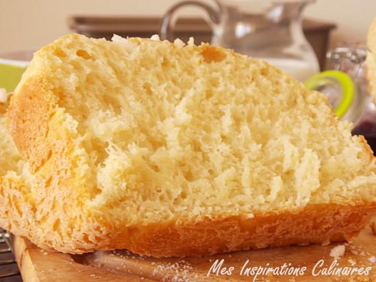 brioche sans beurre au mascarpone