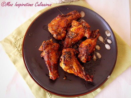 recette de buffalo wings ailerons de poulet marin s le blog cuisine de samar. Black Bedroom Furniture Sets. Home Design Ideas