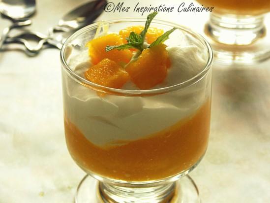 dessert exotique a la mangue citron vert et cardamome le blog cuisine de samar. Black Bedroom Furniture Sets. Home Design Ideas