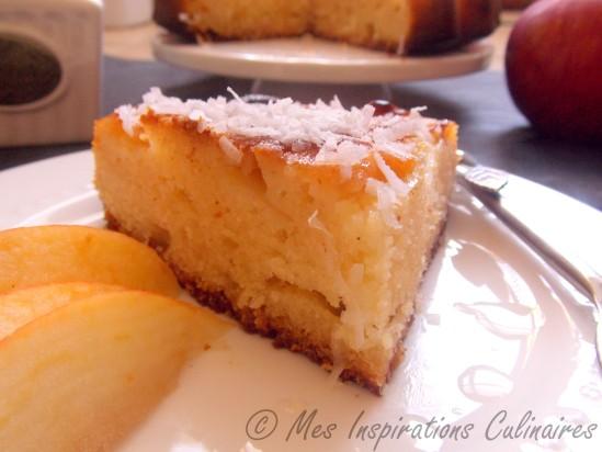 Gâteau au yaourt et aux pommes extra moelleux