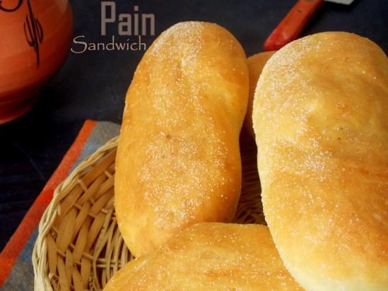 Pain sandwich {a la pate magique}