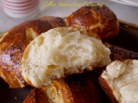 Les mauricettes de Sabrina {Petits pains alsaciens} Meilleur Patissier M6