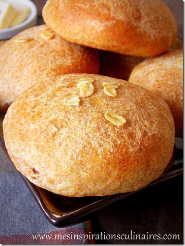 petits pains à la farine de blé complet / menu de thanksgiving