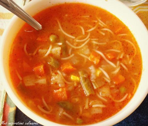soupe aux legumes express et facile le cuisine de samar