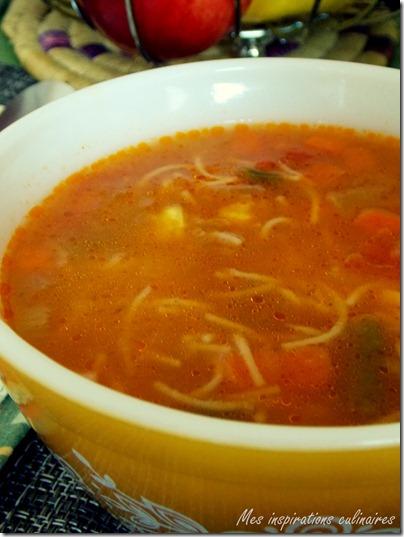 Soupe Aux Legumes Express Et Facile Le Blog Cuisine De Samar