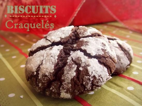 Biscuits craquelés au chocolat irresistibles de Martha Stewart