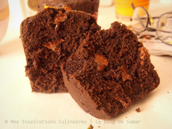 Les muffins au chocolat