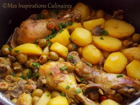 Poulet aux olives le blog cuisine de samar - Cuisine algerienne facile ...