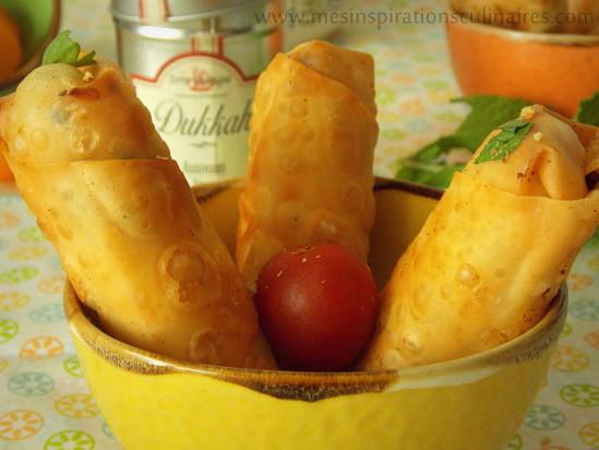 bourek fromage crevettes