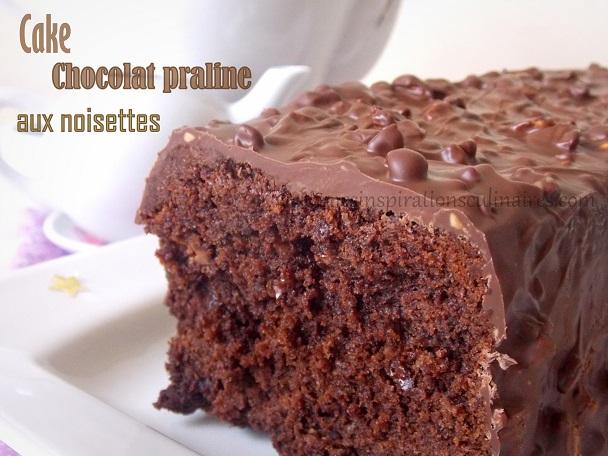 Cake Infiniment chocolat de Pierre Herme